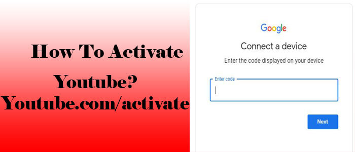 youtube com activate